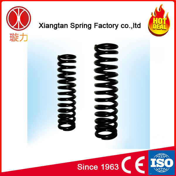 customer design large helical suspension coil gym equipment spring