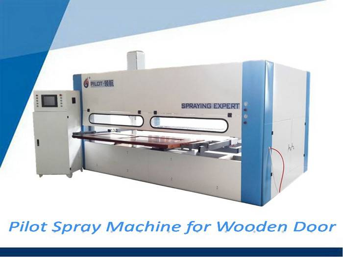 new technology automatic spray door coating machine