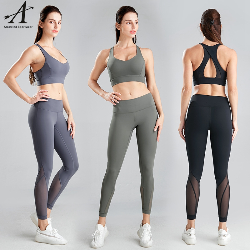 Fashion Comfortable Seamless Yoga Suit Women Track Suit Workout Clothing Gym Wear