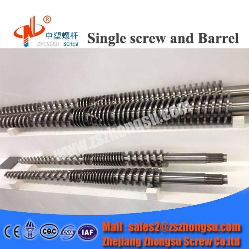 Plastic Extruder Twin Screw Barrel for Hard PVC