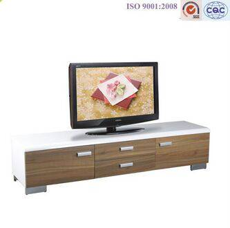 New Design - Wooden Modern LED TV Stand Furniture