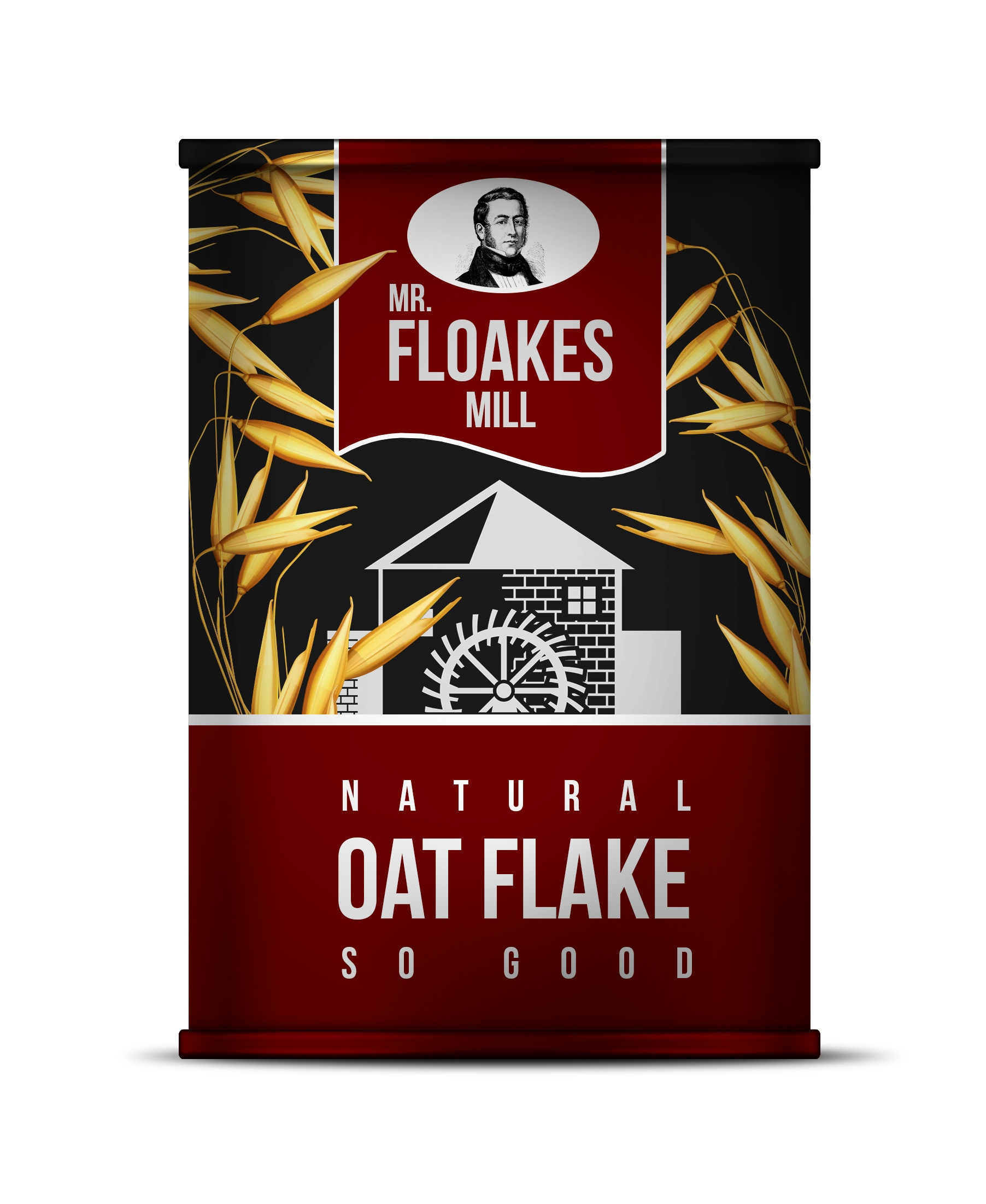 Mr. Floakes Oat Flakes