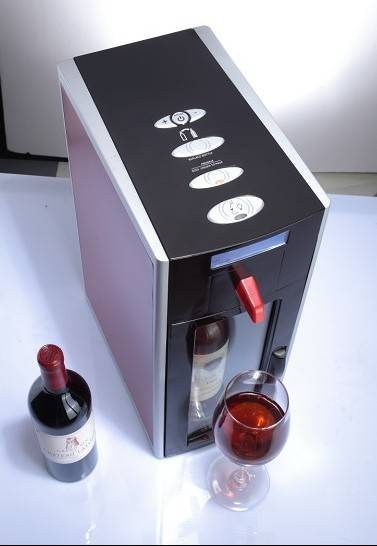 Innovation! 1 bottle auto-vacuum home wine dispenser fridge