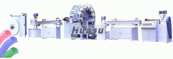 PVC Pipe Extruder-PVC Firbre Enhancing Hose/Pipe Extrusion Line