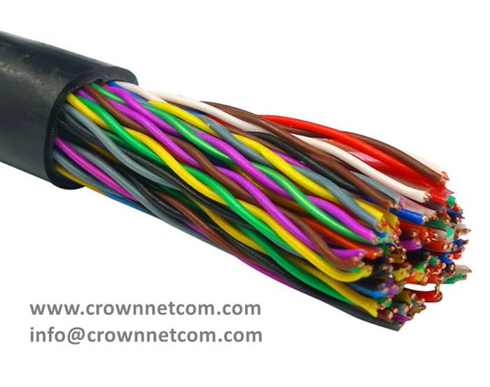 50pair telephone cable multipair exterior cable multipar telefonico de 50pares cat3 24awg