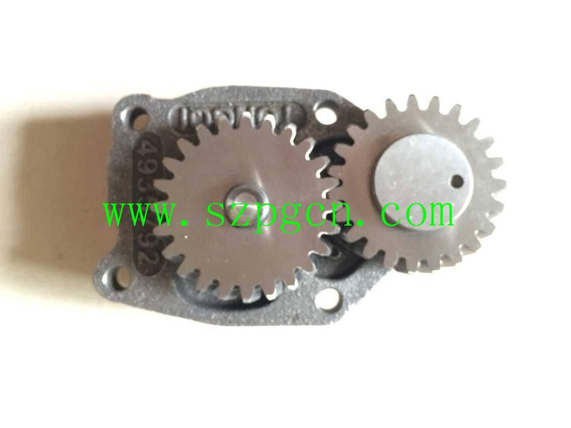 Diesel Engine 6BT Oil Pump 4935792 3937404 for Excavator