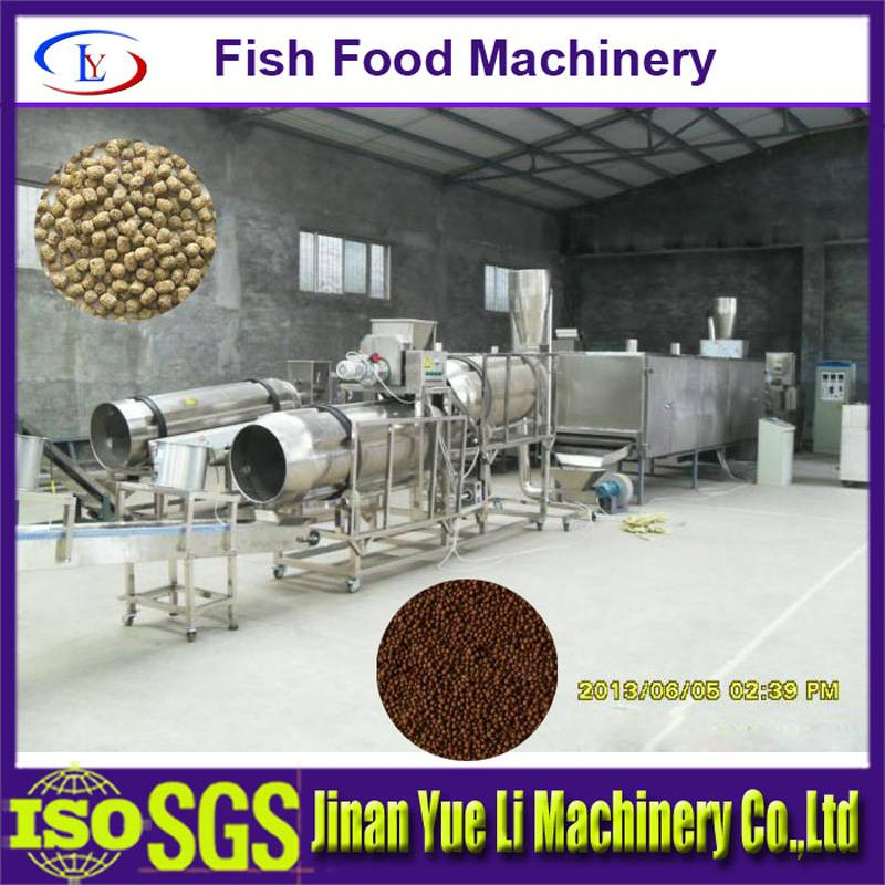Fish Feed Extruder/making/processing machine/plant/line/high capacity/efficiency/qualityautomatic