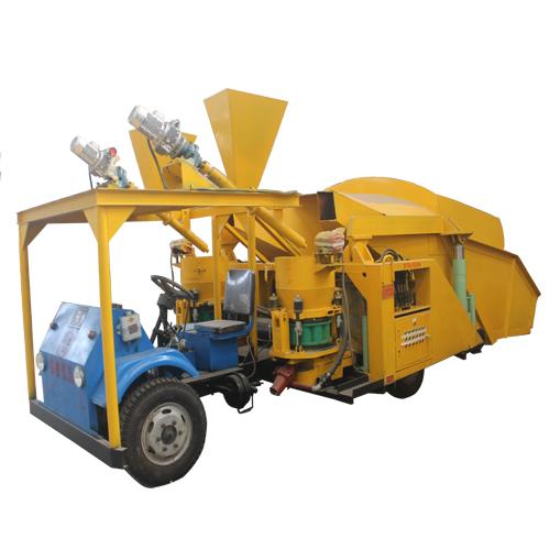 automatic feeding dry shotcrete truck