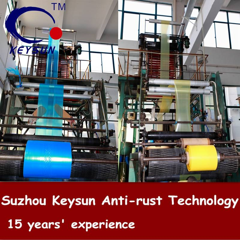 VCI Film For Protecting Metal Anti Rust