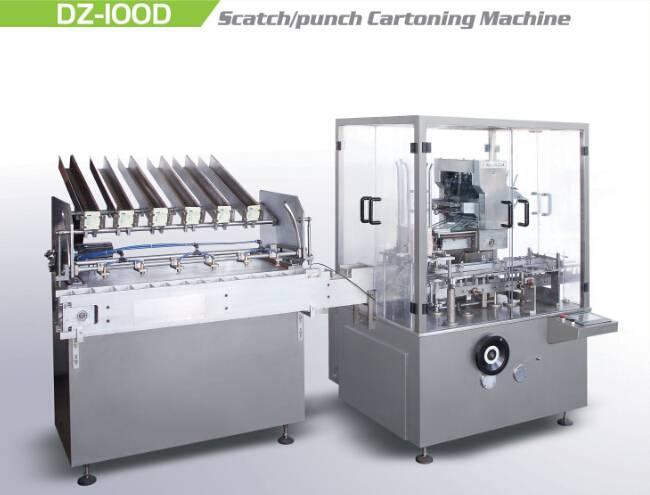 Hot Sale Automatic Cartoning Machine