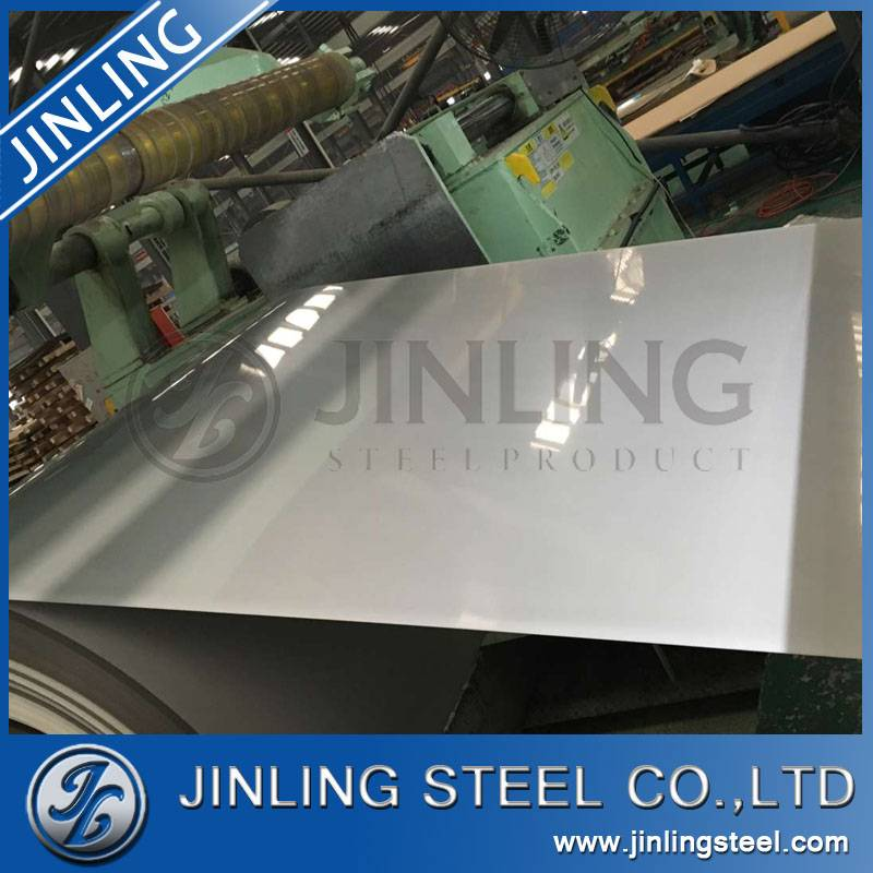 AISI 304 2B stainless steel sheet/plate/coil from China manufacture for building metal