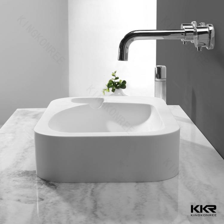 Popular design normal size rectangular wash basin