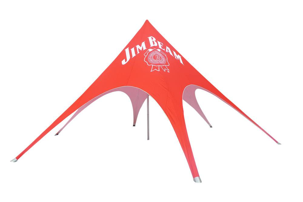 outdoor star tent for beach
