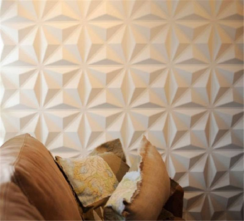 Waterproof boards interior home decoration 3D PVC light-weigt wall panel