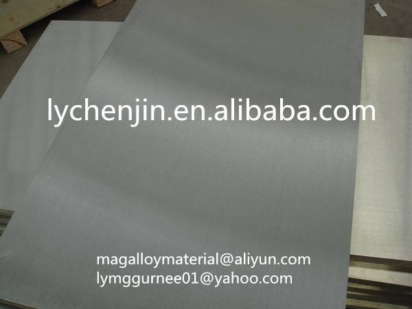 Magnesium Alloy Sheet for carving & etching