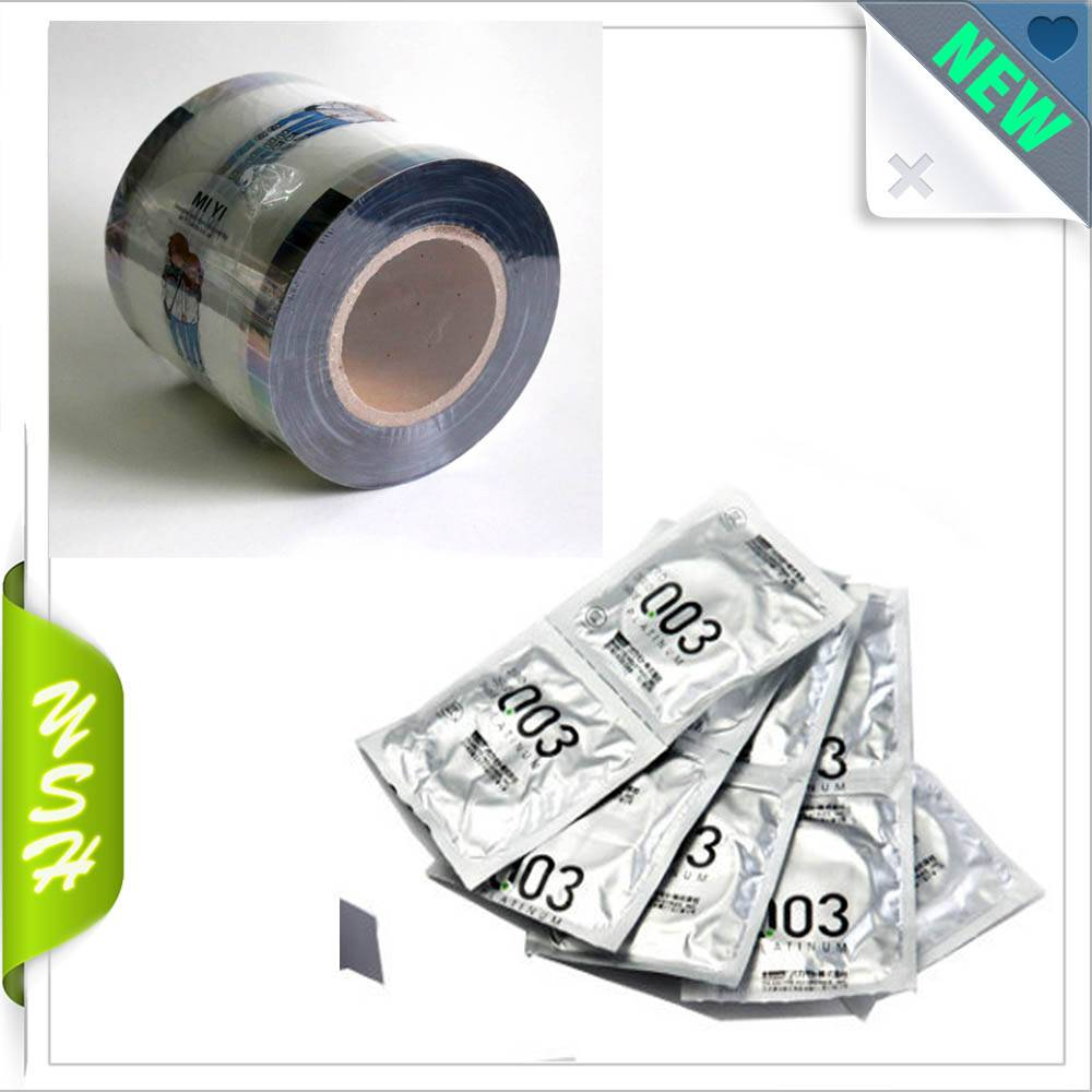 automatic roll for packaging condom
