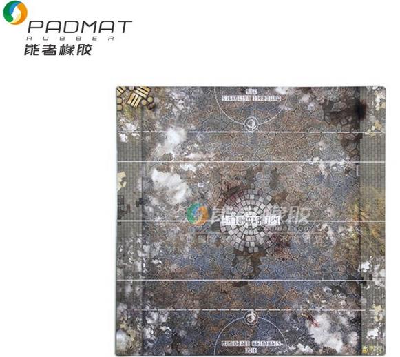 Custom sized battle mats for Guildball