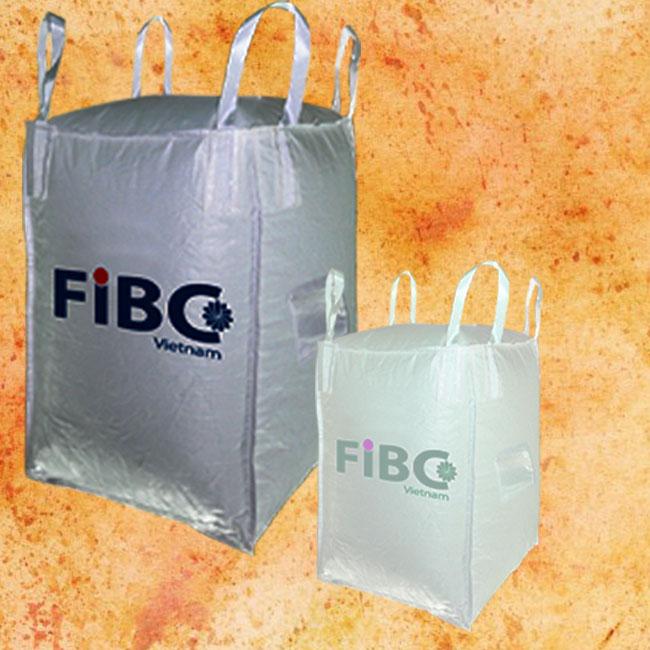 FIBC Bulk Bags (Baffled Bag) in Vietnam 200kg - 3000kg
