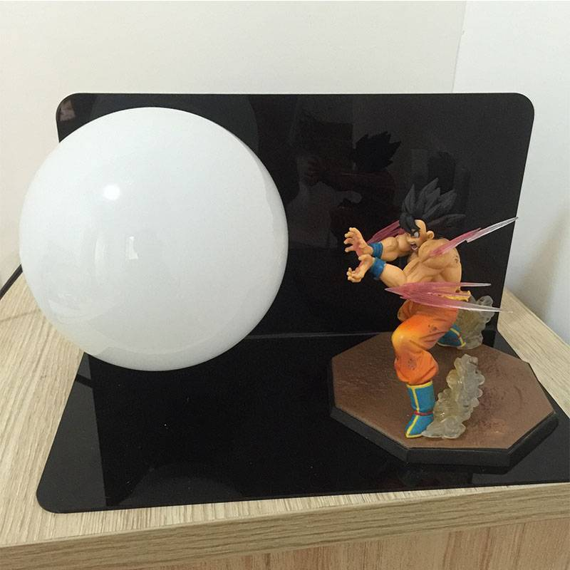 Custom animation seven dragon ball hand Sun Wukong Genki Dama led Eye protection decorative lamp dol