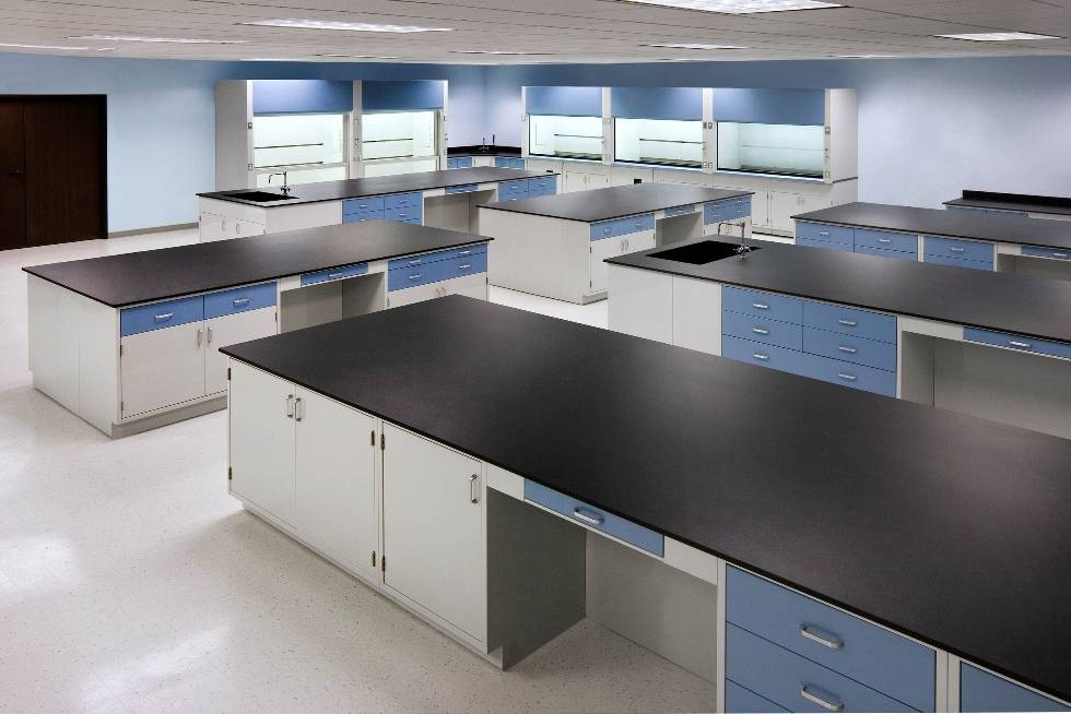 Best price and good quality laboratory wooden island bench