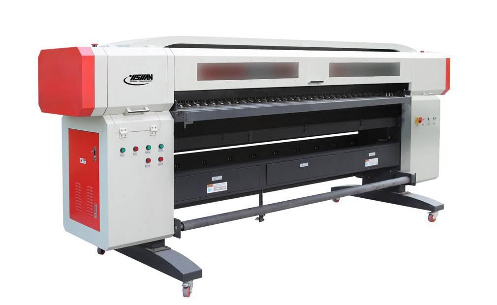 2.5M UV-LED ROLL PRINTER