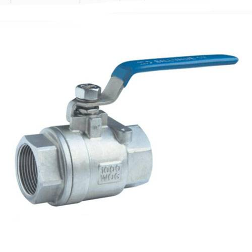 2 pc female threaded ball valve