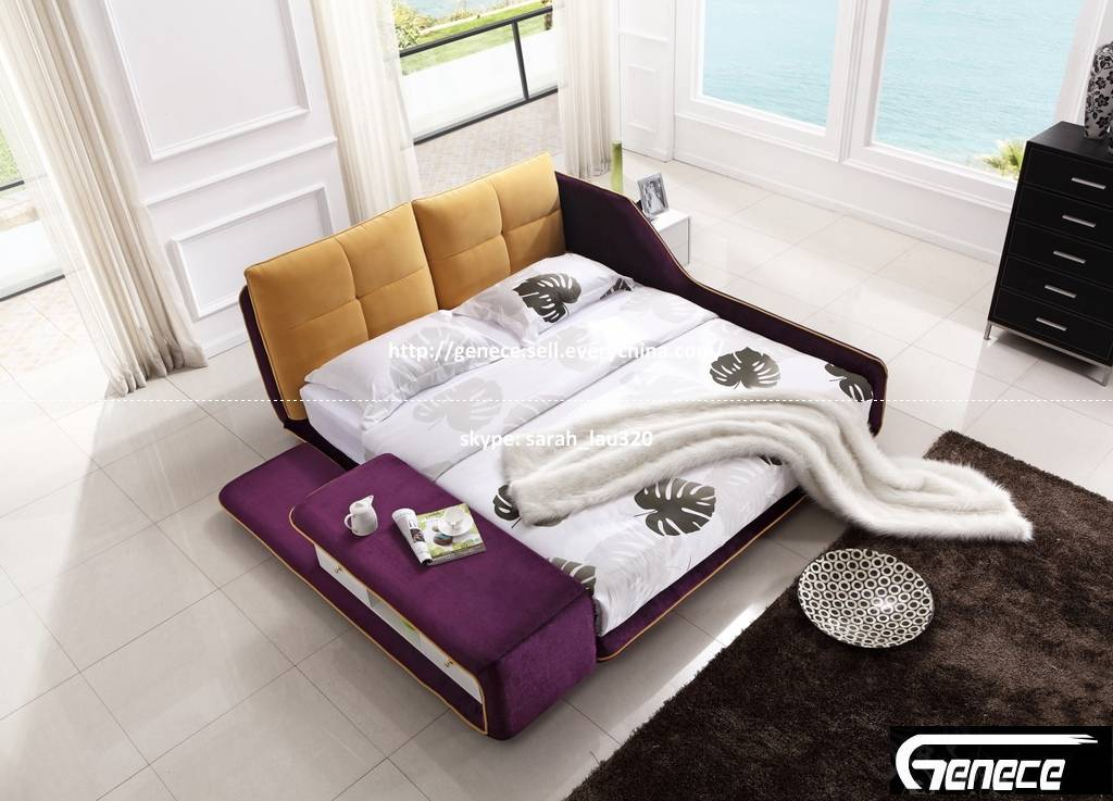 Hot Sale Fabric Bed 682#
