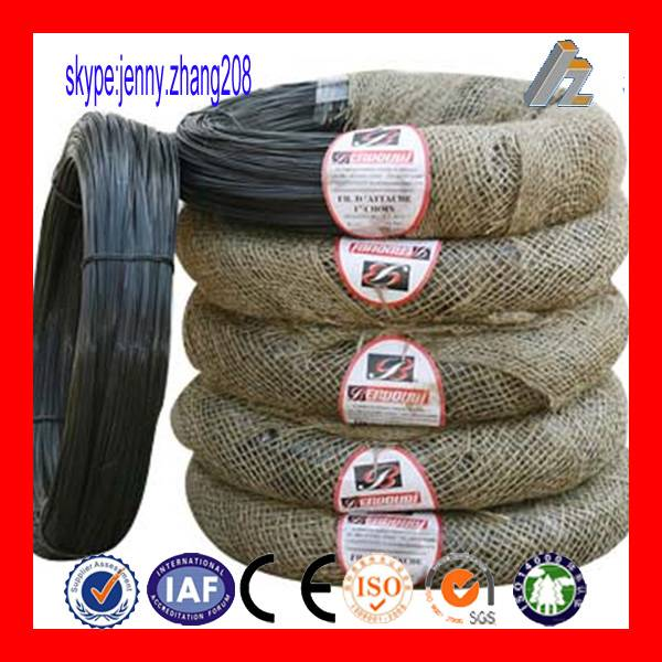Best price black annealed wire for binding (BWG/SWG 16G 18 20 22g factory)