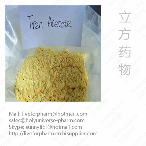 99% Quality Trenbolone Acetate,Yellow powder, CAS10161-34-9, high purity on sale