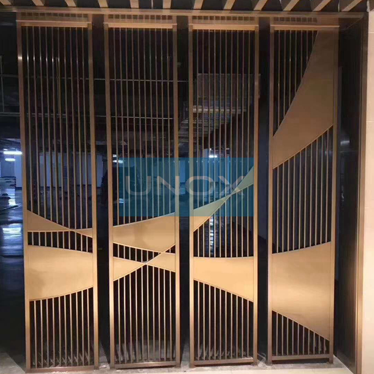 Architectural Stainless Steel Metal Screens Room Divider Metal Screen