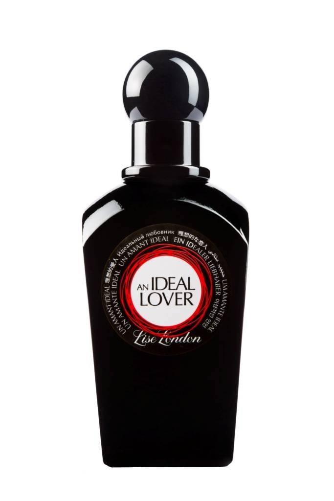 An Ideal Lover Perfume Bottle Embossed stickers