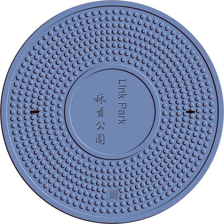 en124 SMC/BMC(DMC) composite round cover customized with CE