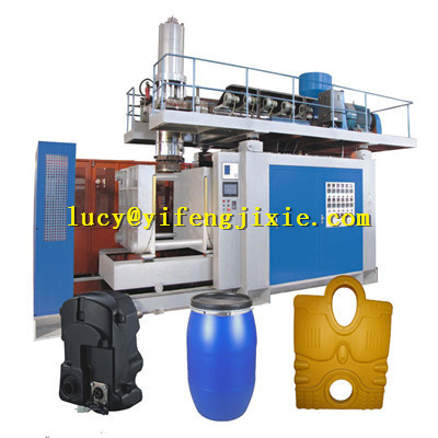 large output barrel plastic product blow molding machinery
