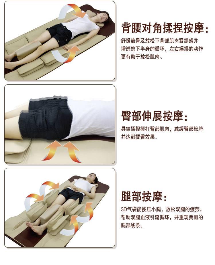 Betterkong BK701 Air pressure massage mattress, massage bed, massage mat factory