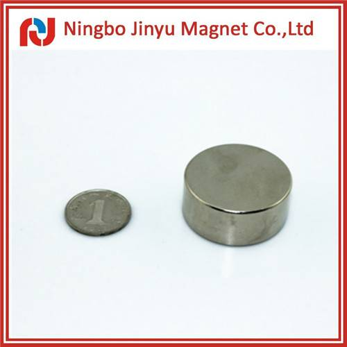 neodymium magnet n50 disc shape with nickel coated for sale