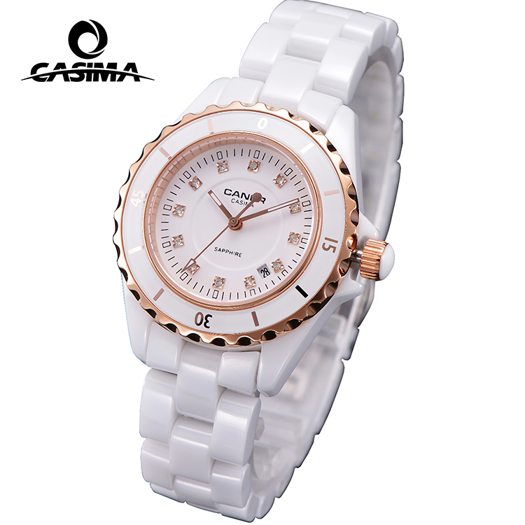 2017 new model woman ceramic watch for selling