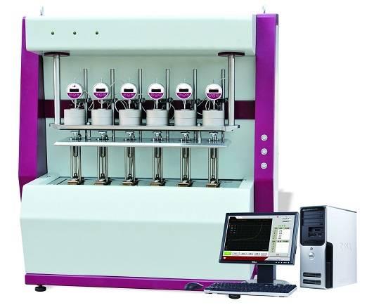 VKT-500 Series HDT/Vicat tester