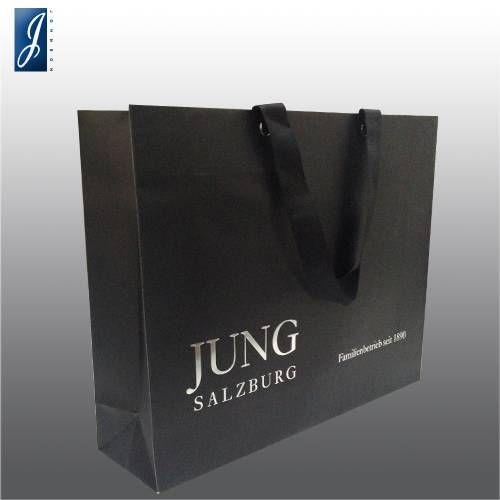 Customized medium paper bag for JUNG