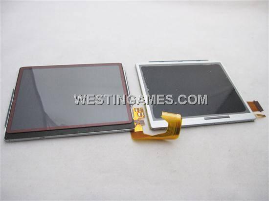 Genuine Upper and Button TFT LCD Screen Modules for NDSi LL/DSi LL/DSi XL Set (Pulled)