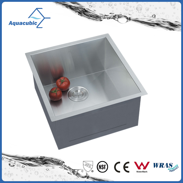 19 In 16 Ga Stainless Steel Single Bowl Kitchen Sink (ACS1920A1 )