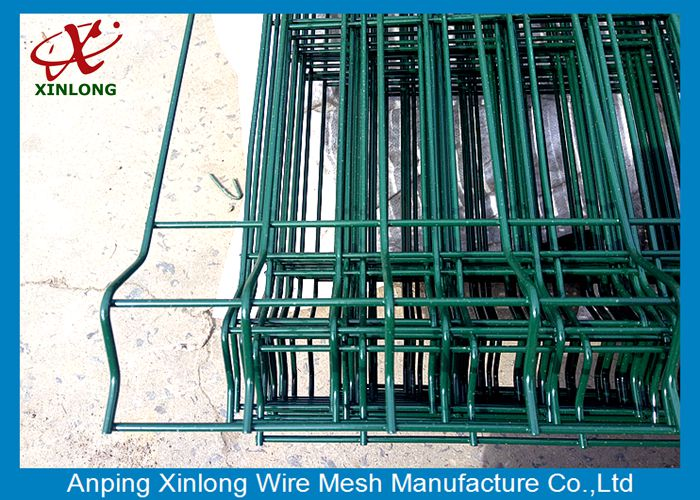 Powders Sprayed Coating 4.5mm Portable 3D Wire Mesh Fence
