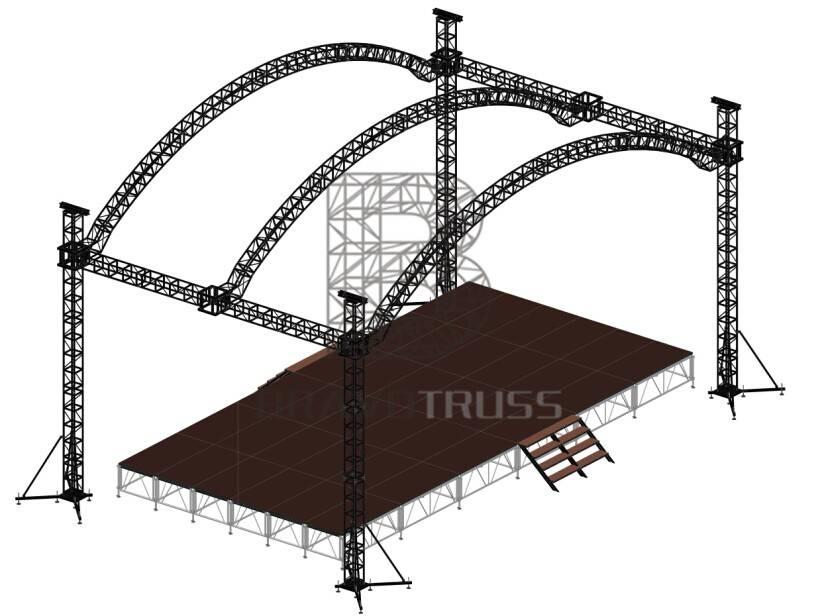 Outdoor Stage Truss Design Bravo Aluminum Stage Truss