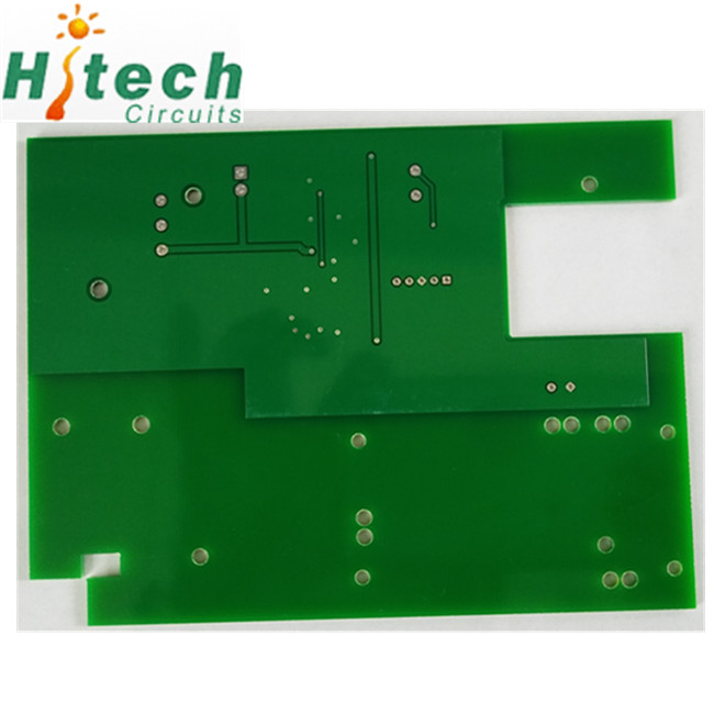 Double sided PCB prototype