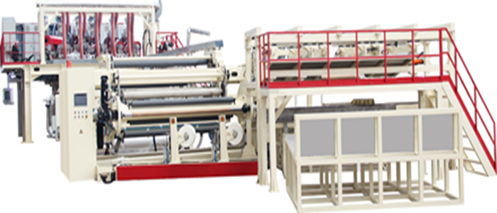 6-layer High Barrier Mulch Film Casting Machine