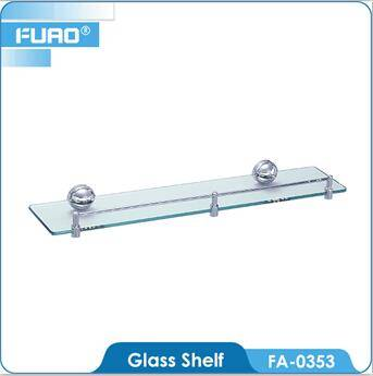 Wall mounted dual tier bathroom corner shelf