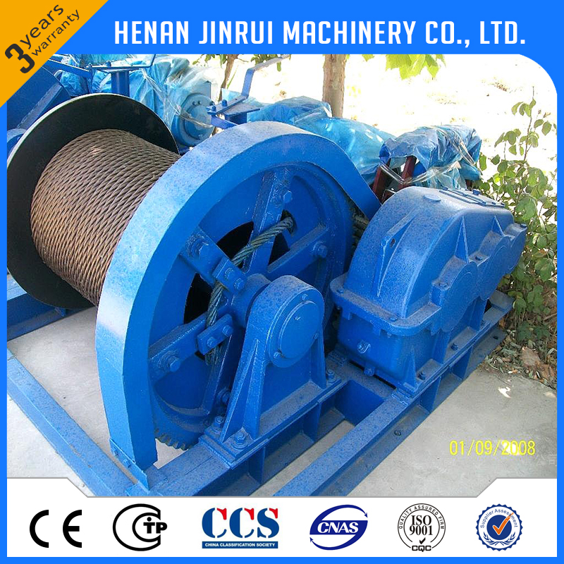 10 ton electric pulling winch for mine with good quality