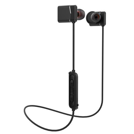 BH1523 CSR4.1 Stereo bass voice bluetooth headphones wireless Aluminium magnet bluetooth earbus