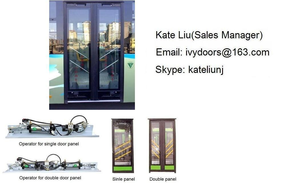 PIS100 Pneumatic Inswing Bus Door Mechanism(Single Panel and Double Panel)