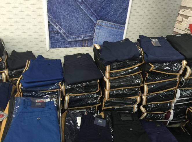 ALL SIZES OF MEN JEANS