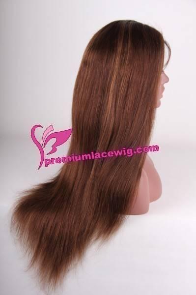 100% Human Hair Glueless Lace Wig